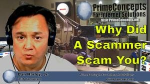 Tech Talk Episode #91 - Why Do Scammers Scam?
