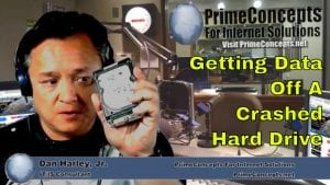 Tech Talk Episode #93 - How To Deal With A Hard Drive Crash