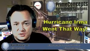 Tech Talk Episode #102 - How I Accurately Predicted The Path Of Hurricane Irma