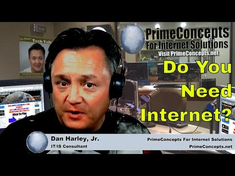 Tech Talk Episode #108 - How To Get Internet Service For the High Desert/Victor Valley