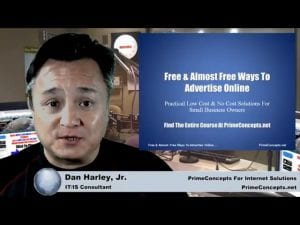 Tech Talk Episode #116 - Introduction To Free & Almost Free Ways to Advertise Online